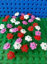 LEGO Bulk Flowers x12 Creator City Town Train Trees Minifigs Utensil Friends NEW