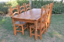 Set of furnitures from Mexico (handmade, rustic)