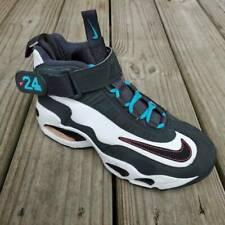 Nike Air Boys Griffrey Max 1 South Beach Basketball Shoes Black 437353-146 5 Y