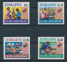 Zimbabwe - 1995 Sc 746 -  49 - 50Thanniversary of the UN VF MNH