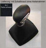 Mercedes R171 SLK Echtleder Schaltknauf Farbe Schaltsack Schaltmanschette