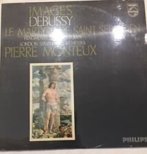 Pierre Monteux - Debussy: Images (1963) ITALY Philips – 835 205 AY -NEW