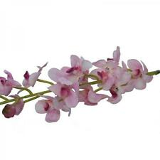 Kunstseide Orchidee Zierlich Stiel Zartes Rosa 78cm