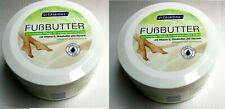 2x Vitawohl Foot Butter Vitamin E, Shea Butter and Glycerol, 2x 250 ML