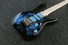 IBANEZ Steve Vai Signature JEM77P-BFP E-Gitarre Blue Floral Pattern + Bag