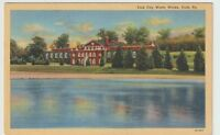 Unused Postcard York City Water Works York Pennsylvania PA