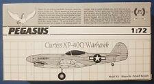 1/72 Pegasus 2016: Curtiss Xp-40Q Warhaw,