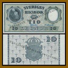 Sweden 10 Kronor, 1954 P-43b Unc
