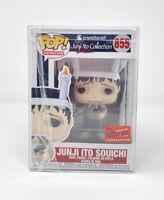 Funko Pop! JUNJI ITO SOUICHI #855 NYCC Official Sticker 2020 Crunchyroll Mint