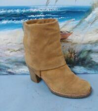 UGG JOSIE beige Stout 3214 Suede Tall Fashion Boots SZ 11  UK 9.5