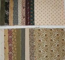 "CIVIL WAR ERA  5"" Charm SQUARES   Fabric for Quilt Blocks, Mini Tops & Projects"
