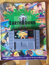 EarthBound SNES with Book
