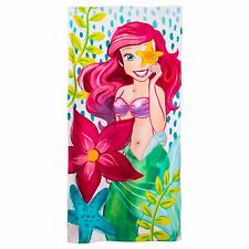 Disney Store The Little Mermaid Princess Ariel Beach Towel Swimwear Gift NWT
