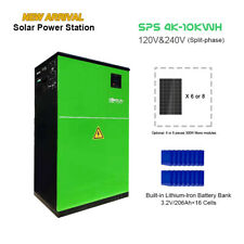 Solar Energy Storage System, 10.5 KWh Lithium Battery, 4KW split phase output