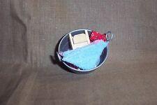 gefüllte Waschschüssel  - Miniatur 1:12