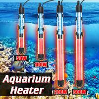220V 50W-300W Aquarium Fish Tank Water Heater Adjustable Submersible Thermostat