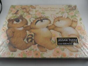 NEW Springbok 500 Piece Puzzle Happiest Times Together Animals Vintage NIB