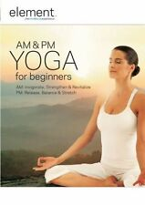 Element: AM and PM Yoga for Beginners (DVD, 2009) NEW/SEALED FITNESS