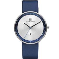 Jacob Jensen 272 Strata Gents Blue Leather Strap Watch