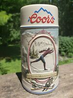 """Vintage Coors The Rocky Mountain Legend Series Collectible 7"""" Beer Stein 1991"""