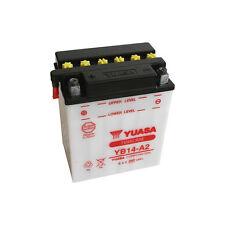 Batterie Moto Yuasa YB14-A2 12v 14.7Ah 175A 134X89X166mm ACIDE OFFERT
