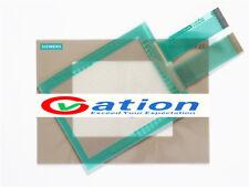 New for SIEMENS TP27-6 6AV3627-1QK00-2AX0 Touch Screen Glass + Protective Film