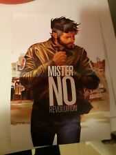 New collective MISTER NO REVOLUTION coloured  POSTER 28X21 cm Greek EDITION