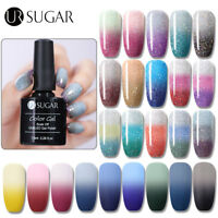 UR SUGAR UV Gellack Polish Thermal Glitter Shimmer Soak Off Gel Lack 7.5ml