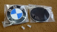 51148219237 74mm roundel BMW Hood Rear Trunk Emblem Badge + grommets 51148209932