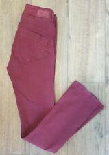 "Salsa red maroon skinny jeans waist 29"" leg 32"" Secret stretch Push in"