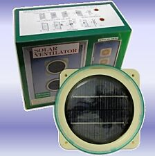 Solar Powered Ventilator Ideal for Use in Caravans / Motor Homes / Boats etc