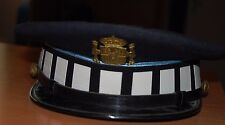Spain. Police Hat And Patch, Police Collectors Item. Authentic!