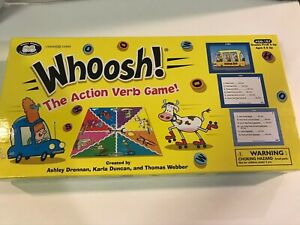 Super Duper Whoosh! Action Verb Game #GB-167 Speech Language SLP