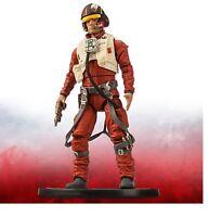 Disney Store Star Wars Force Awakens Poe Dameron Elite Series Die Cast Figure