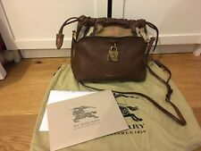 Burberry Prorsum Little Crush Brown Crossbody Bag 100% Authentic With Receipt