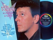 Gene Vincent ORIG OZ LP Singles album EX Capitol Rockabilly Rock N Roll