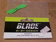 BLADE HELICOPTER PART - BLH7621G = PROP, CCW ROTATION, GREEN : nQ X (NEW)