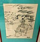 Beky ORIGINAL artwork ink on silk