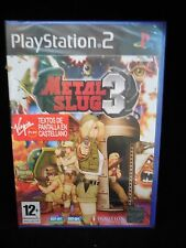 Metal Slug 3 (completo) PAL España Sony PlayStation 2 PS2