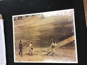 1993 Babe Ruth 60th Home Run 14x11 Inch Print Sealed