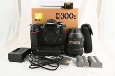 NIKON D300S Camera + Nikkor AF-S VR 24-120mm f/3.5-5.6 IF-ED AF Lens + extras