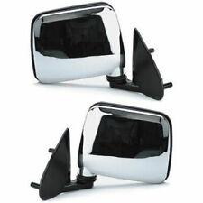 Set of 2 LH & RH Side Manual Folding Mirror Fits Nissan Pickup D21 Pathfinder
