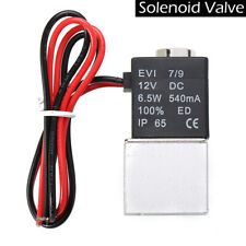 1/4 inch Dc 12V 2 Way Normally Closed Pneumatic Electric Solenoid Air Valve Us