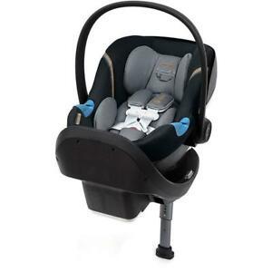 Cybex Aton M Infant Car Seat SensorSafe and SafeLock Base Pepper Black VVV 993