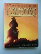 2 Bücher A Tough Job in a Hard Land Cowboying Weilte Westen im Bild Cowboy