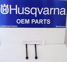 2 HUSQVARNA OEM 503204587  MUFFLER BOLTS for  340 345 350 346XP 353
