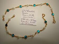 PROMO lot de 2 bracelet femme fille communion perle nacre + medaille Ste vierge