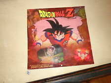 2000 Dragon Ball Z calender
