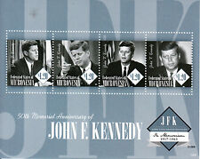 Micronesia 2013 MNH John F Kennedy 50th Memorial Anniv 4v M/S JFK US Presidents