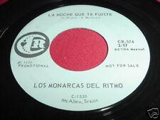 LOS MONARCAS DEL RITMO - NOCHE QUE TE FUISTE - 45 LATIN